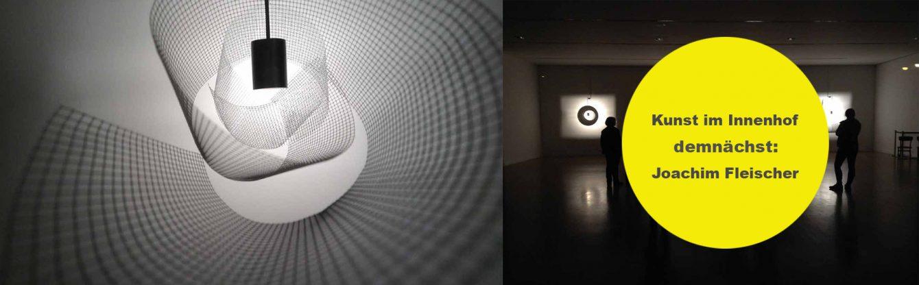 """Joachim Fleischer, """"Inversion"""", 2020, Installation, Fassade Kunsthalle Göppingen, Licht, Bewegung, Projektion"""